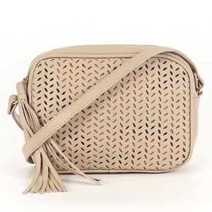 Tan Delilah crossbody bah by Summer and Rose